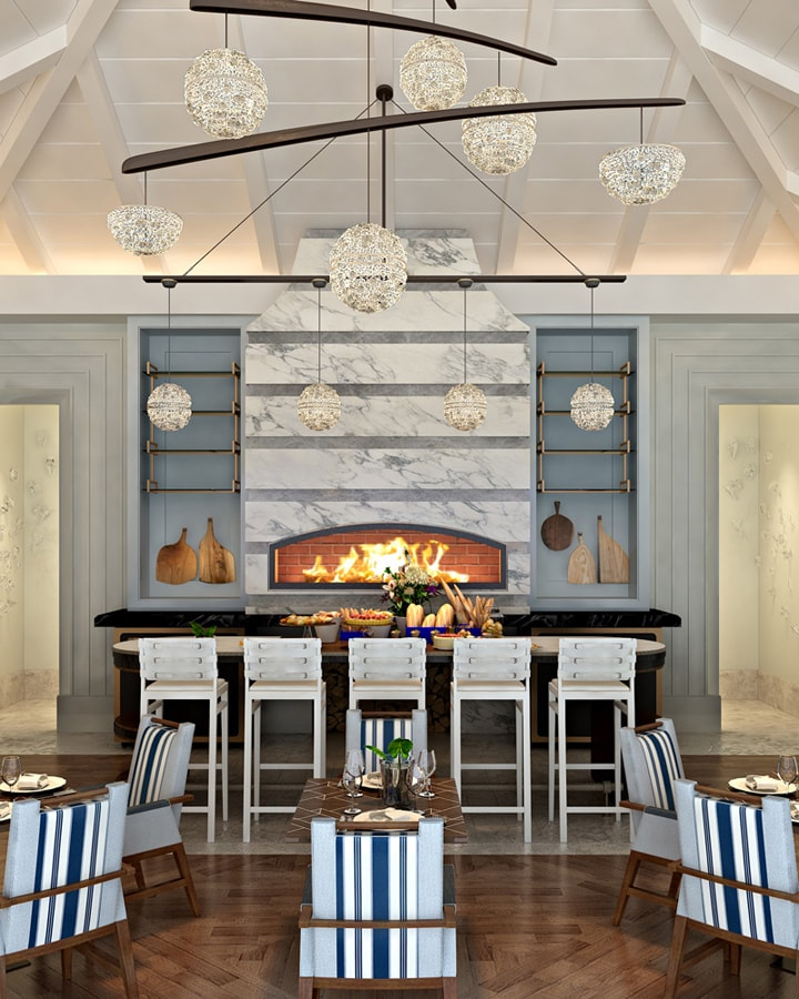 Ritz-Carlton Reserve Residences Hotel Main Dining Room